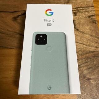 Google Pixel - 【新品未使用】pixel5 128GB SIMフリー版 ソータセージ