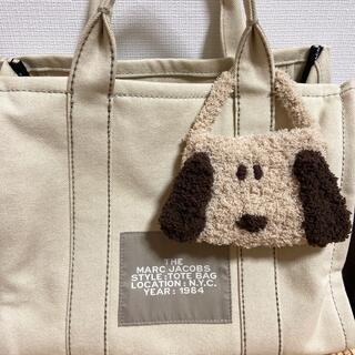 【ベージュ】レジ袋バッグ ミニバッグ ハンドメイド