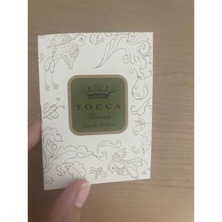 トッカ(TOCCA)のtocca オードパルファム サンプル(香水(女性用))