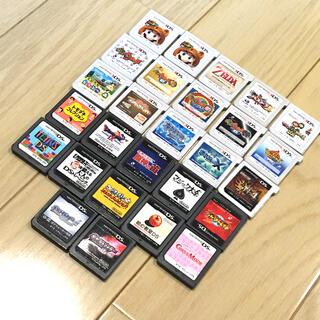 ニンテンドウ(任天堂)の【バラ売り可能】ニンテンドーDS 3DS ゲームソフト まとめ売り 計27点(携帯用ゲームソフト)