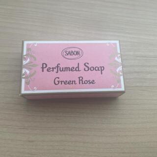 サボン(SABON)のsabon 化粧石鹸 グリーンローズ 20g(ボディソープ/石鹸)