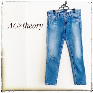 セオリー(theory)のAG×theory デニム 26 THE STILT CROP(デニム/ジーンズ)