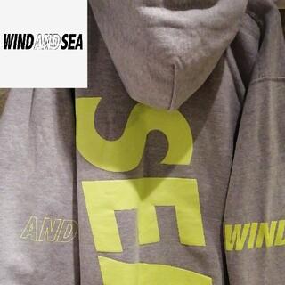SEA - 【XLサイズ B.I.G HOODIE】WIND AND SEA SEA  OY