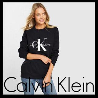 カルバンクライン(Calvin Klein)の日本未入荷★カルバンクライン CK ロゴ スウェット US/Sサイズ(トレーナー/スウェット)