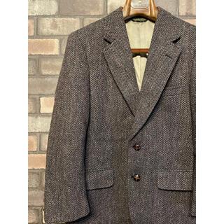 ハリスツイード(Harris Tweed)のヴィンテージ ウール ツイードジャケット ハリスツイード ペンドルトン USA(テーラードジャケット)