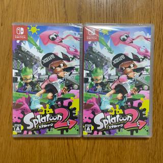 Nintendo Switch - 【新品 未開封 スプラトゥーン2】2本セット 17時まで当日発送