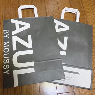 AZUL by moussy - アズール ショッパー 紙袋