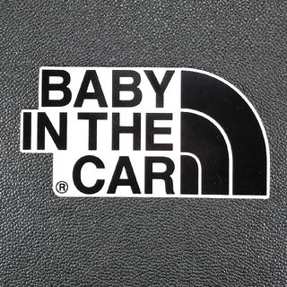 【ステッカータイプ】BABY IN CAR チャイルドシートとご一緒に(その他)