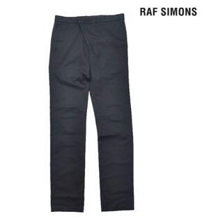 ラフシモンズ(RAF SIMONS)のRAF SIMONS 2007ss コットン テーパードパンツ 黒 44(その他)