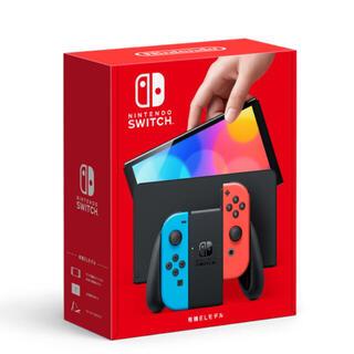 ニンテンドースイッチ(Nintendo Switch)のNintendo Switch 新型 有機EL本体 ネオンカラー新品未使用(家庭用ゲーム機本体)