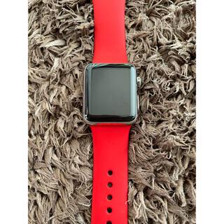 Apple Watch - Apple Watch 1 ステンレス 38 限定プロダクトレッド