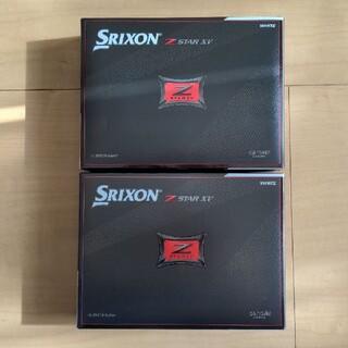 SRIXON Z-STAR XV 2021年モデル 2ダース ダンロップ