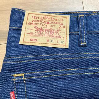 Levi's - デッドストック リーバイス USA製 505-0217  濃紺 未洗 ビンテージ