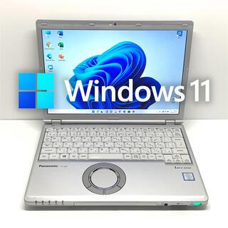 Panasonic - Windows11 ノートパソコン SZ6 8GB i5 新品バッテリー