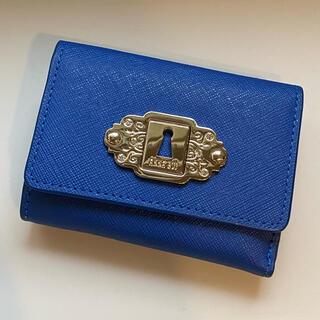 ANNA SUI - ブルー 三つ折り財布《ANNA SUI》