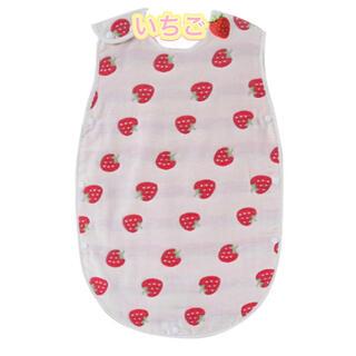 新品★スリーパーベビー赤ちゃん子供キッズパジャマ可愛いコットン いちご🍓