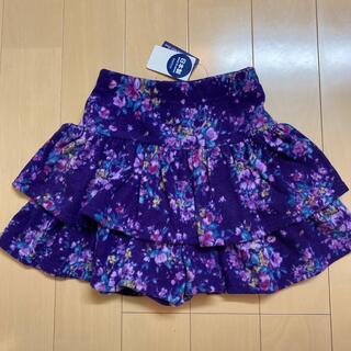 アナスイミニ(ANNA SUI mini)のANNA SUImini 130【新品】♡お花柄♡(スカート)