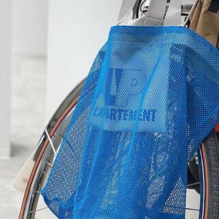 L'Appartement DEUXIEME CLASSE - L'Appartement メッシュトートバッグ ブルー