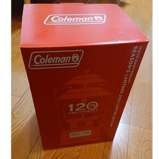 Coleman - 新品未開封 Coleman シーズン ランタン 120周年 コールマン 120t