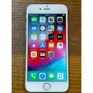 アップル(Apple)のiPhone 6 64GB silver docomo(スマートフォン本体)