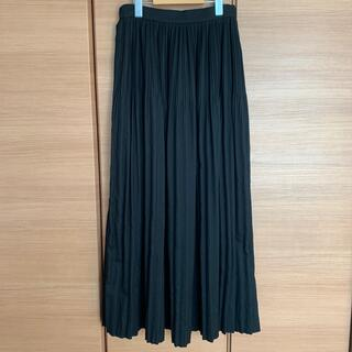 アズールバイマウジー(AZUL by moussy)のAZUL by MOUSSY マキシスカート BLACK size M(ロングスカート)