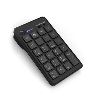 Windows用 Bluetoothワイヤレステンキー Cateck製  黒