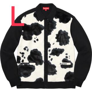 Supreme - Supreme®/Cow Print Cardigan Black