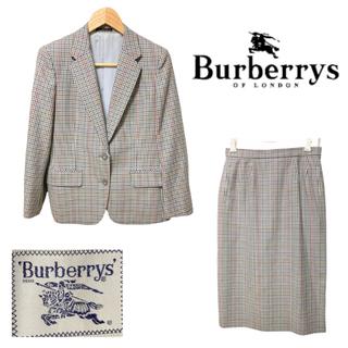 バーバリー(BURBERRY)の【稀少】 Burberry's 90s バーバリーズ セットアップ 千鳥柄(テーラードジャケット)