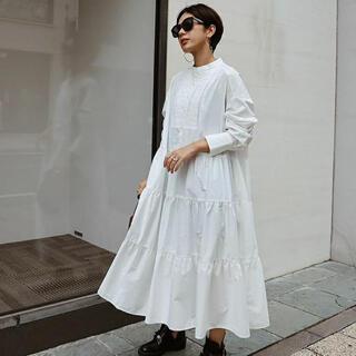 タキシードシャツドレス 新品未使用