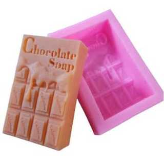 0327 シリコンモールド 石鹸型 チョコレート型(型紙/パターン)