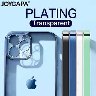 大人気!クリア 透明 メタリック シンプル iPhone ケース スマホケース