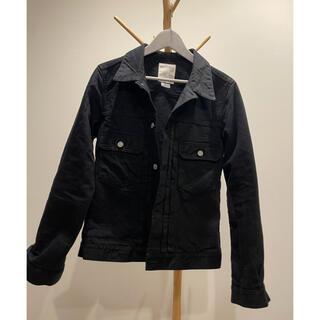 ヴィスヴィム(VISVIM)の2021FW VISVIM ブラックデニムジャケット サイズ3(Gジャン/デニムジャケット)