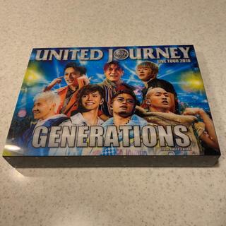 ジェネレーションズ(GENERATIONS)のGENERATIONS UNITED JOURNEY LIVETOUR 2018(ミュージック)