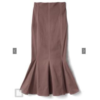 GRL - GRL 配色ステッチハイウエストマーメイドスカート