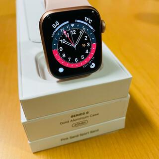 Apple - 10/16までの出品【美品】Apple Watch Series6