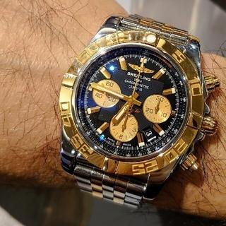 ブライトリング(BREITLING)の激レア ブライトリング クロノマット44 デイト CB0110 メンズ 時計 (腕時計(アナログ))