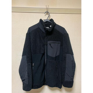 UNIQLO - UNIQLO engineered garments フリース 黒 L