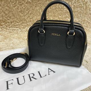 Furla - 【極美品】FURLA SIRI S ショルダーバッグ 2way レザー ブラック