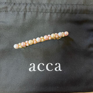 acca - 💖新品、未使用💖accaCOLOR PEARL ピンク
