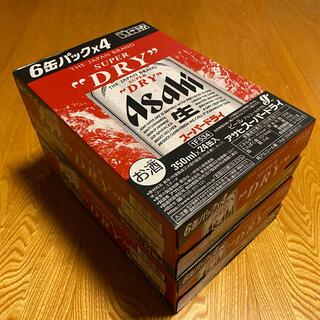 アサヒ - 「新品未開封」アサヒスーパードライ350ml×48本 2ケース