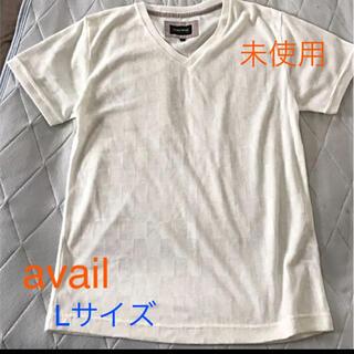 Avail - avail メッシュ Vネック Tシャツ Lサイズ 未使用