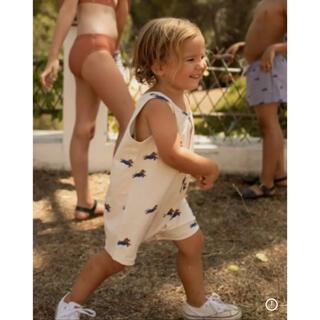 キャラメルベビー&チャイルド(Caramel baby&child )のタイニーコットンズ サロペット(ロンパース)