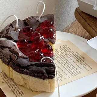 0360 カットケーキ シリコンモールド キャンドル、アロマストーン型(型紙/パターン)
