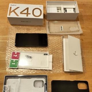 Redmi k40 8GB 128GB 黒 グローバルrom焼き済(F3)