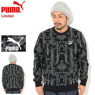 PUMA - 新品 プーマ トレーナー PUMA メンズ リュクス スウェット バロック調 L