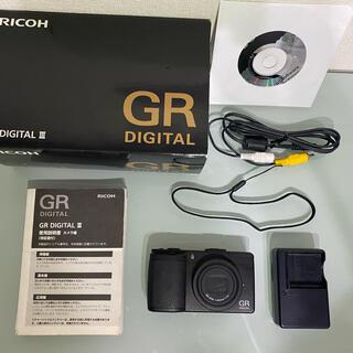 リコー(RICOH)の蜂蜜様専用 RICOH GR DIGITAL Ⅲ(コンパクトデジタルカメラ)