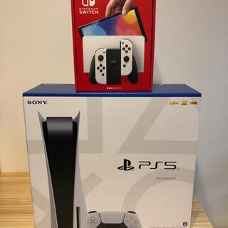 PlayStation - ps5 通常版 + Switch 有機ELモデル ホワイト