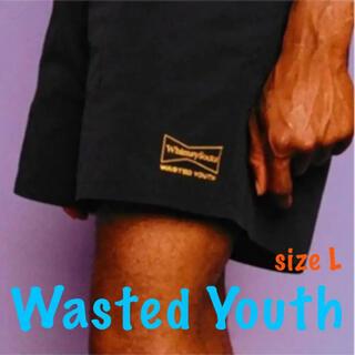 新品 希少 size L  Wasted Youth ウエステッドユースショーツ