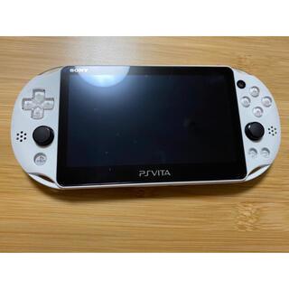 PlayStation Vita - PlayStation Vita グレイシャーホワイト PCH-2000ZA22