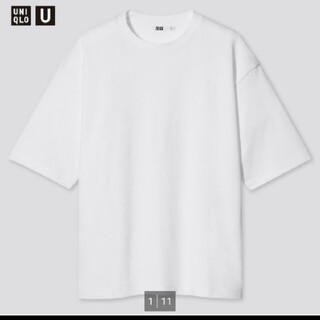UNIQLO - ユニクロユー エアリズムコットンオーバーサイズTシャツ